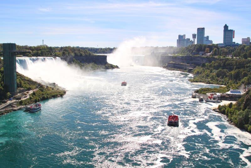 Niagara Falls, Ontario, Canadá fotografía de archivo