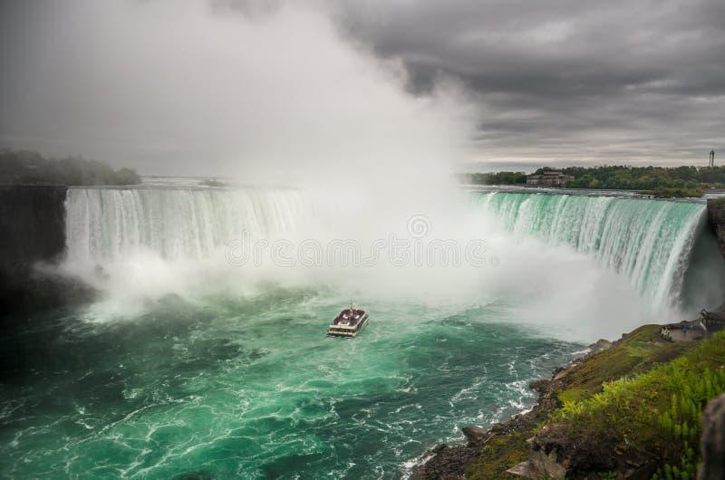Niagara Falls, Ontario, Canadá fotografía de archivo libre de regalías