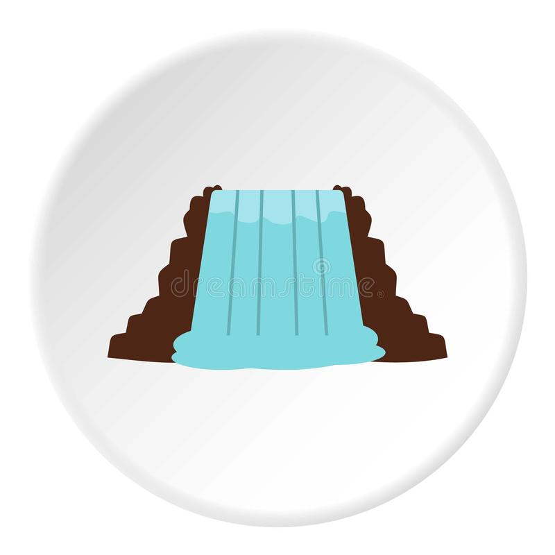 Niagara Falls, Ontario, Canada icon circle royalty free illustration