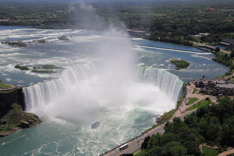 Niagara Falls. Ontario. Il Canada. immagine stock