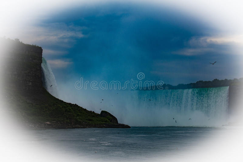 Niagara Falls Retro stock photography