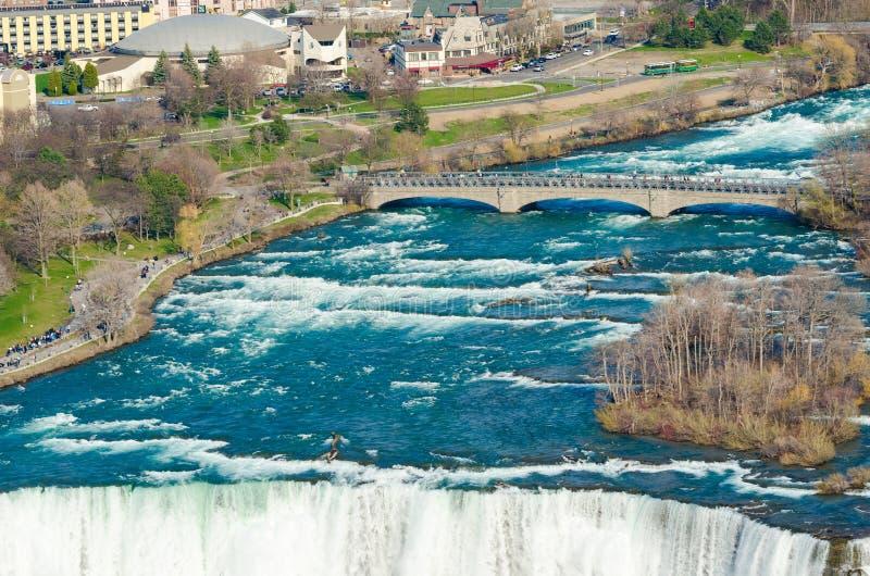Niagara Falls S immagini stock libere da diritti