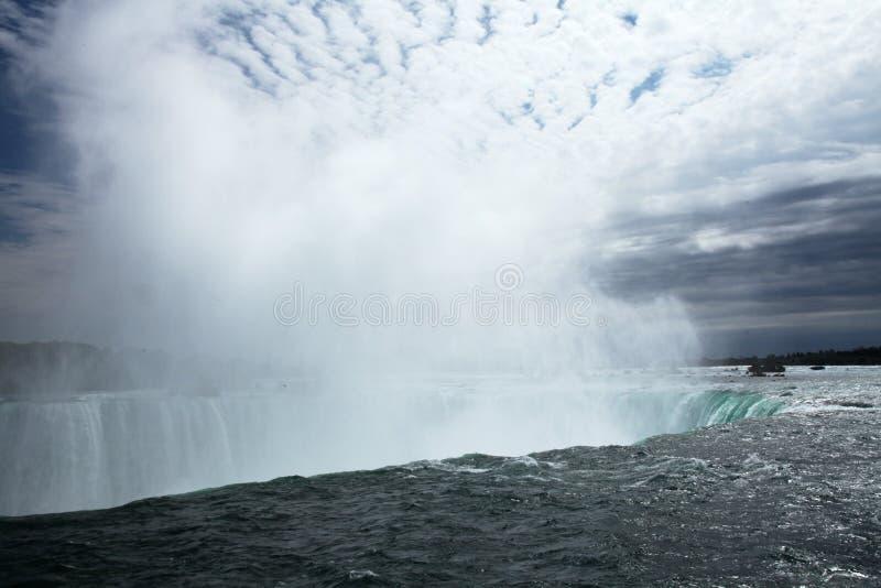 Niagara falls spray stock images