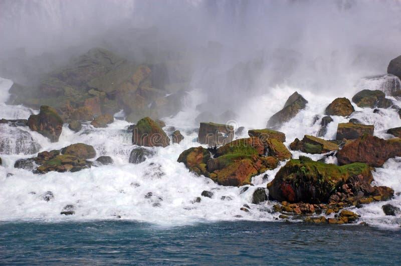 Niagara Falls, stationnement images libres de droits