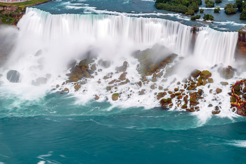 Download Niagara Falls view stock photo. Image of green, energy - 43183184