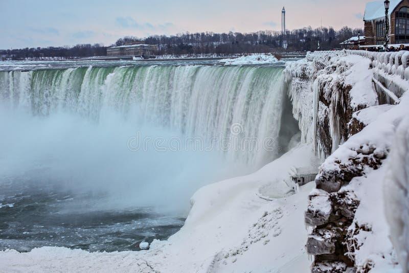 Niagara Falls in winter. stock image