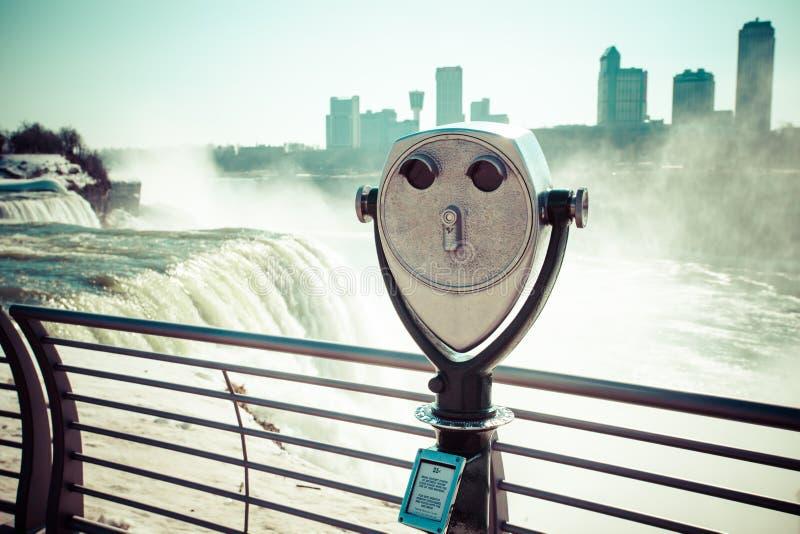 Niagara Falls in winter. Niagara Falls in winter,USA stock photography