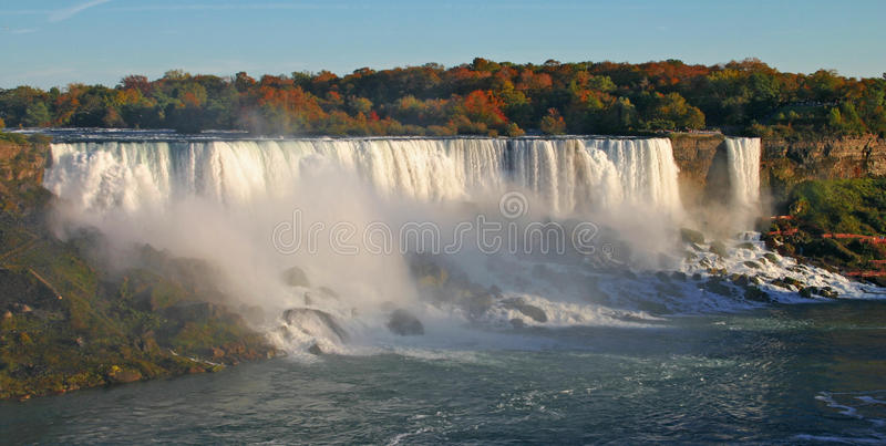 Niagara- Fallsamerikaner-Fälle stockfotografie