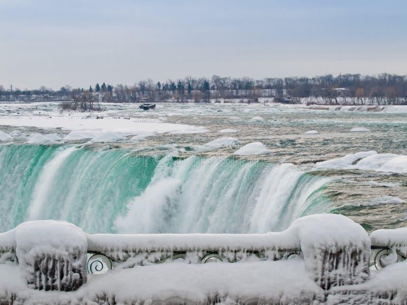 Niagara- Fallskanadierseite stockbild