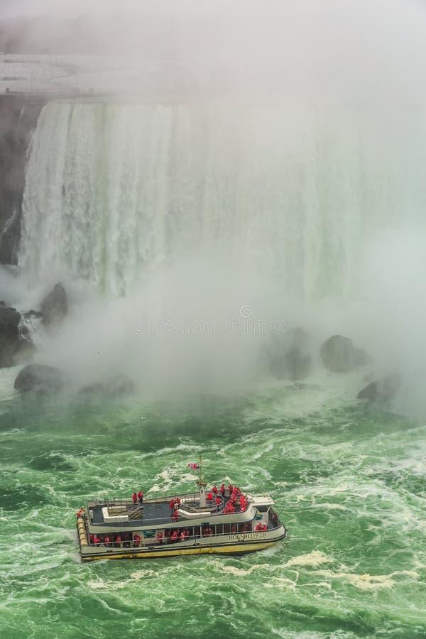 Niagara- Fallsstadtzentrum, Ontario, Kanada stockfotos