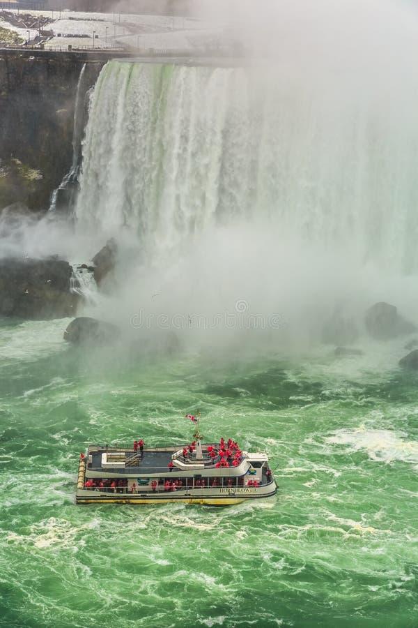 Niagara- Fallsstadtzentrum, Ontario, Kanada stockbilder