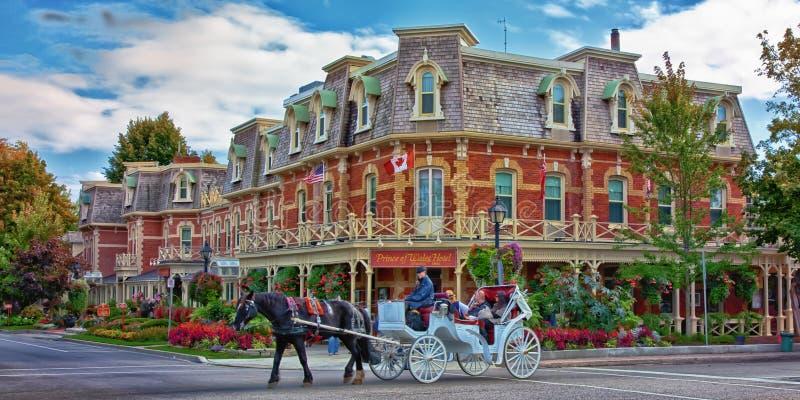 Niagara-op-de-meer royalty-vrije stock foto's