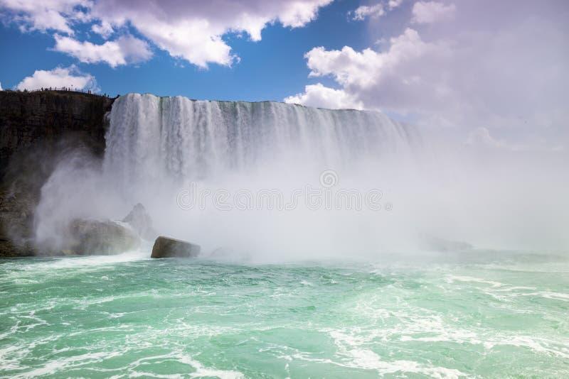 Niagara Spadać Kanada USA zdjęcie stock