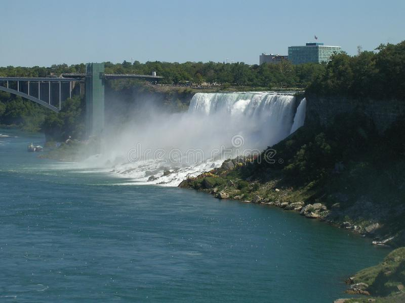 Niagara Spada Kanada: Północna Ameryka zdjęcie stock