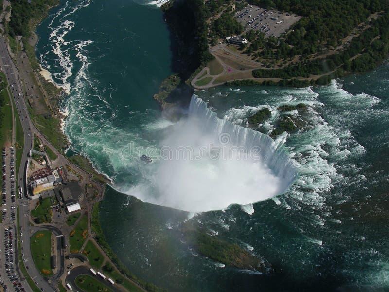 Niagara Spada Kanada: Północna Ameryka fotografia royalty free