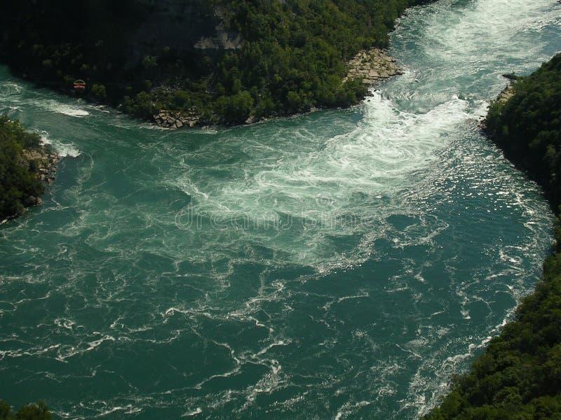 Niagara Spada Kanada: Północna Ameryka obrazy royalty free