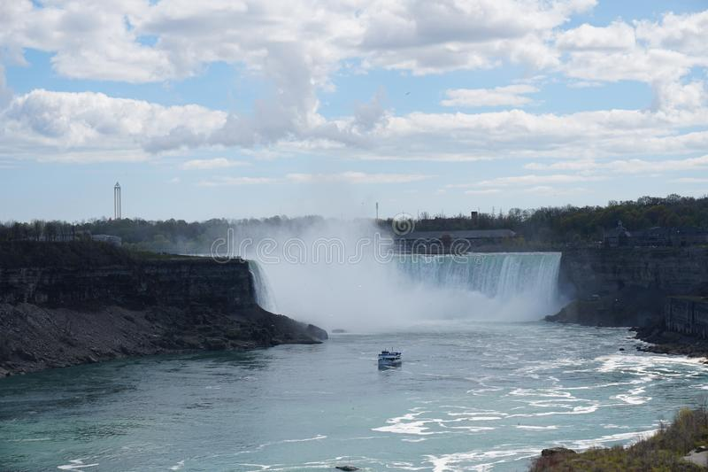 Niagara Spada siklawa fotografia royalty free