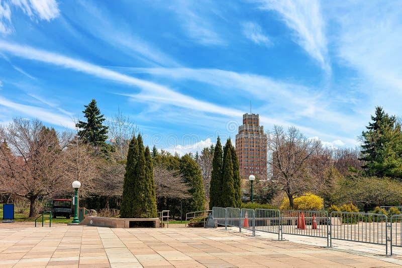 Niagara Spada stanu park w Niagara okręgu administracyjnym zdjęcia stock