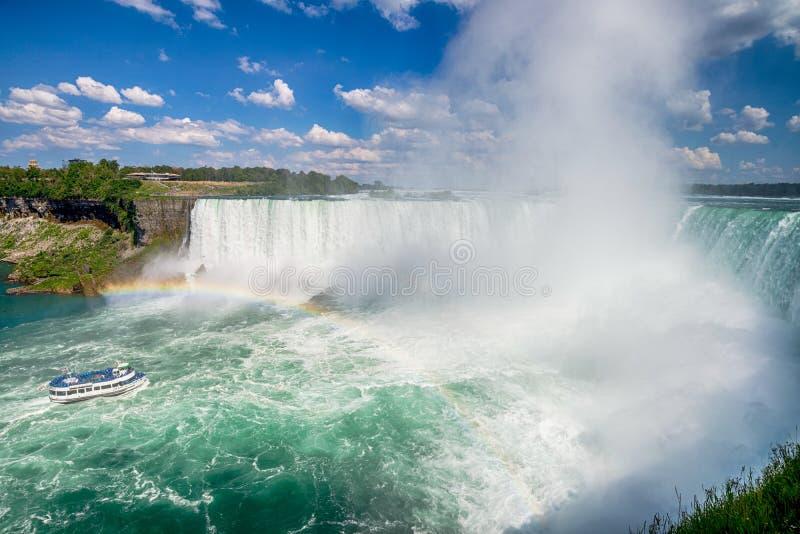 Niagara Spada w Kanada zdjęcia royalty free