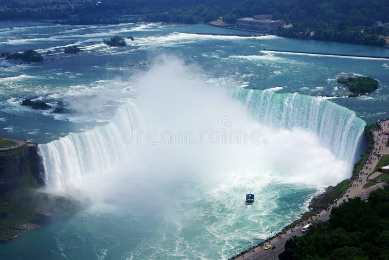 Niagara Spadek obrazy stock