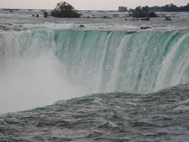 Niagara spadek 2010: Północna Ameryka fotografia stock