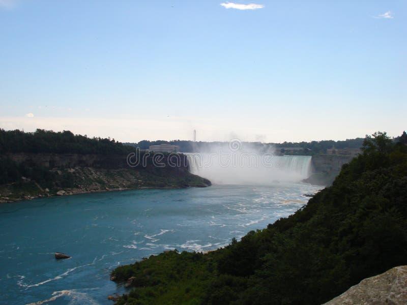 Niagara spadek 2010: Północna Ameryka fotografia royalty free