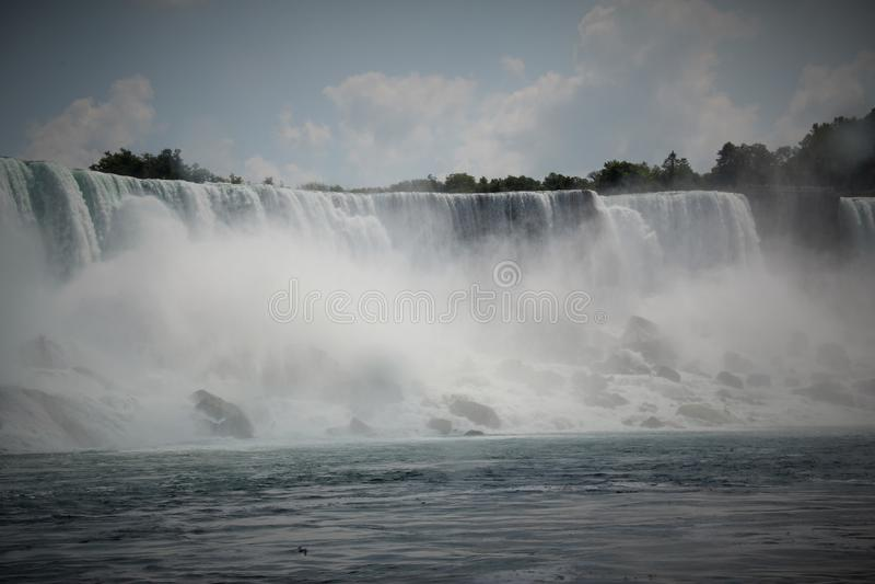 Niagara spadki, Canada/USA fotografia royalty free