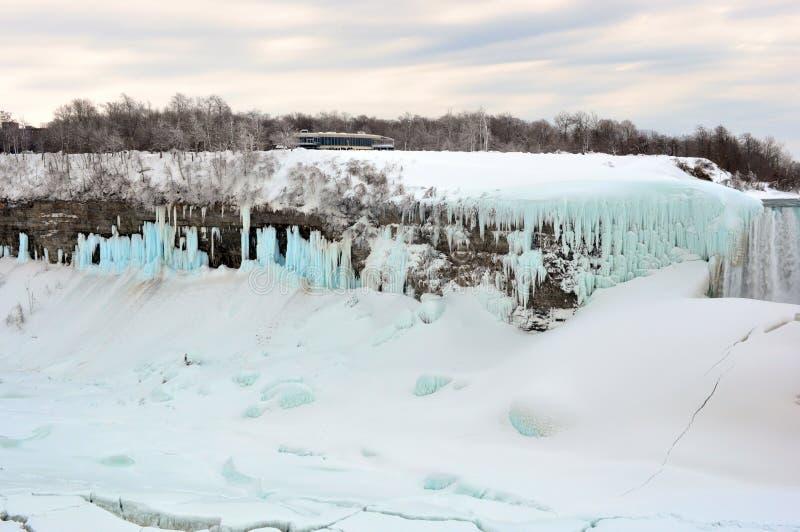Niagara spadki, Ontario Kanada, Marzec, - 9, 2015 zdjęcie royalty free