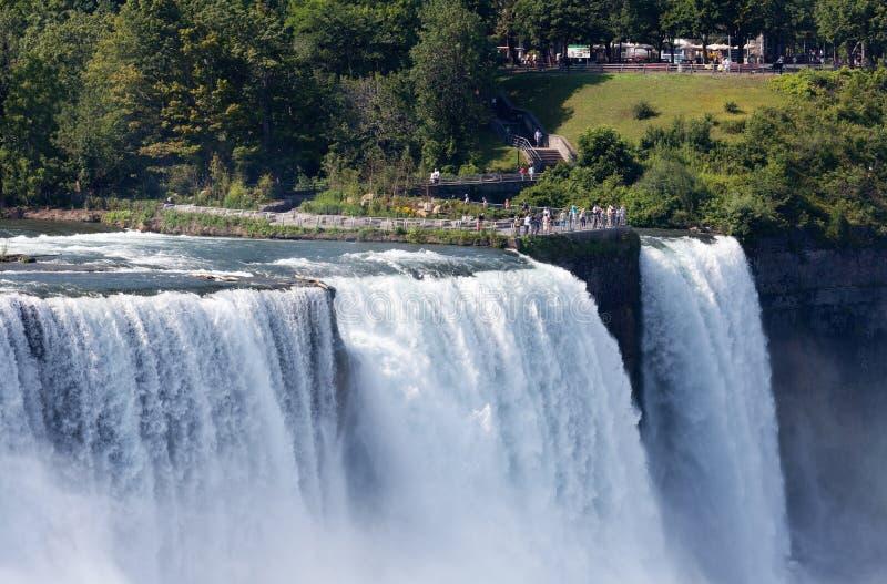Niagara spadki, Stany Zjednoczone zdjęcie royalty free