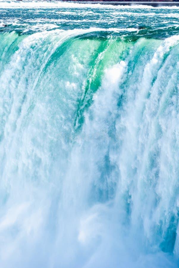 Niagara spadki zamykają up, Ontario, Kanada zdjęcie stock