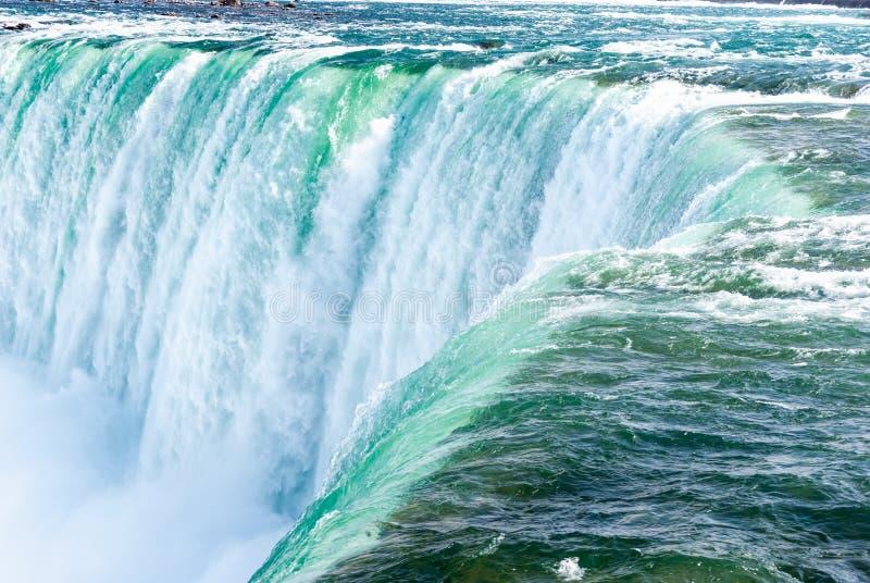 Niagara spadki zamykają up, Ontario, Kanada obraz stock