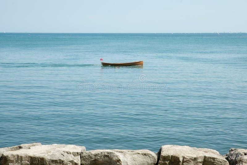 Niagara sur la navigation et le bateau de lac image stock