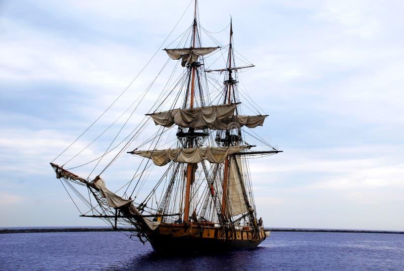 Niagara Tallship sails up stock images