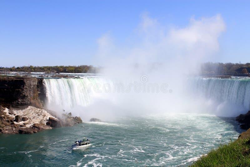 Niagara-Wasserfall stockfotos
