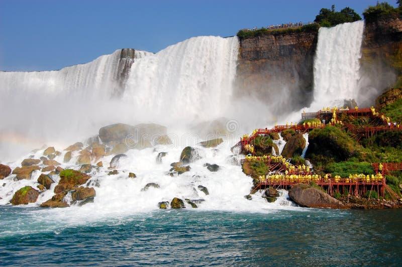 Niagara-Wasserfall stockfotografie