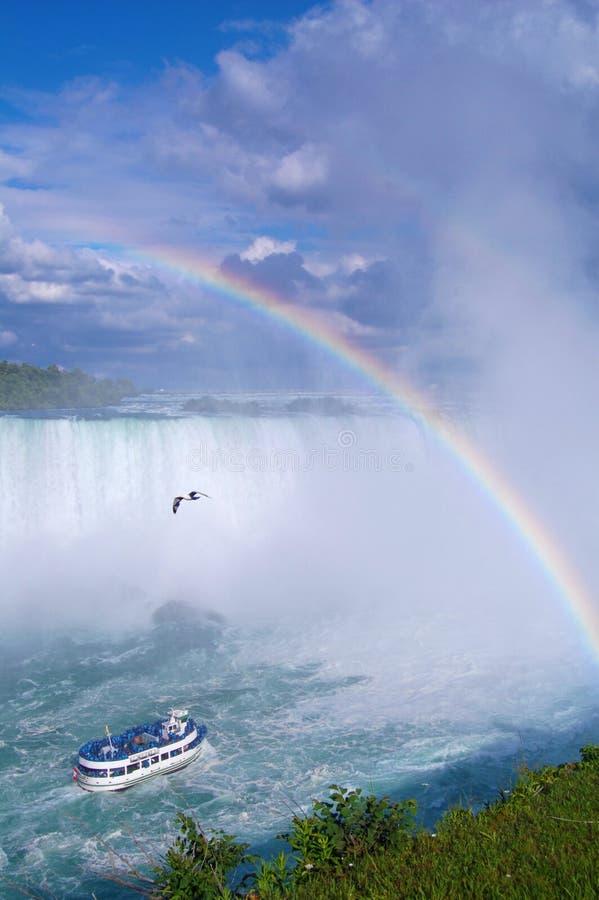 Niagaradaling royalty-vrije stock afbeeldingen