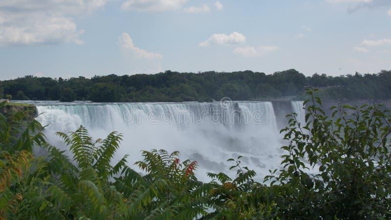 Niagara Falls Horseshoe Waterfall stock images