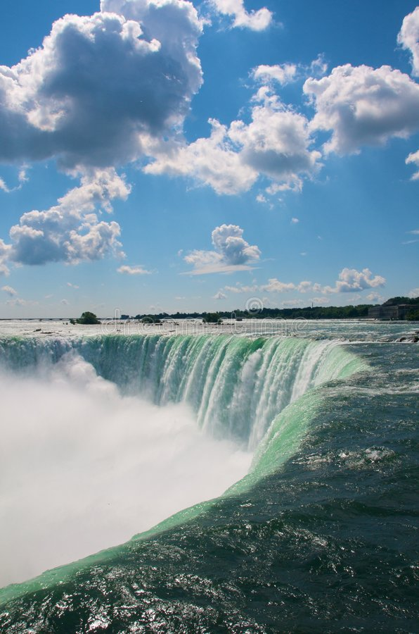 Niagra Horse Shoe Falls royalty free stock photography