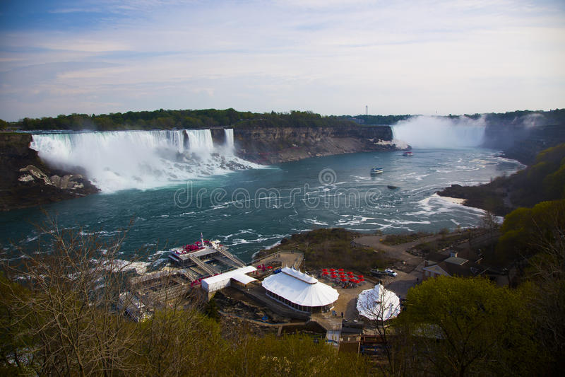 Niagra tombe Canada photo stock