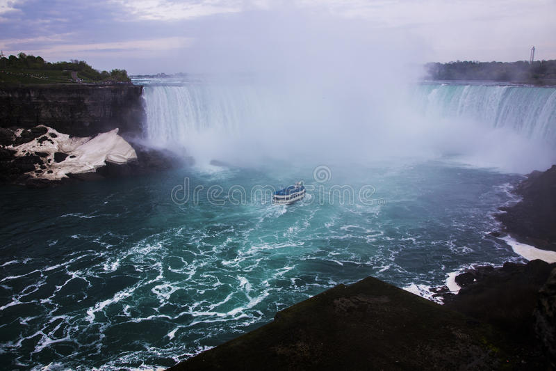 Niagra tombe Canada images stock