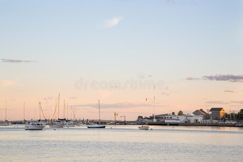 Download Niantic Bay, Evening stock photo. Image of wait, home - 33096068