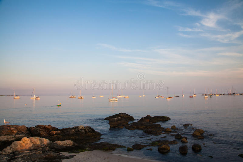 Niantic-Bucht stockbild