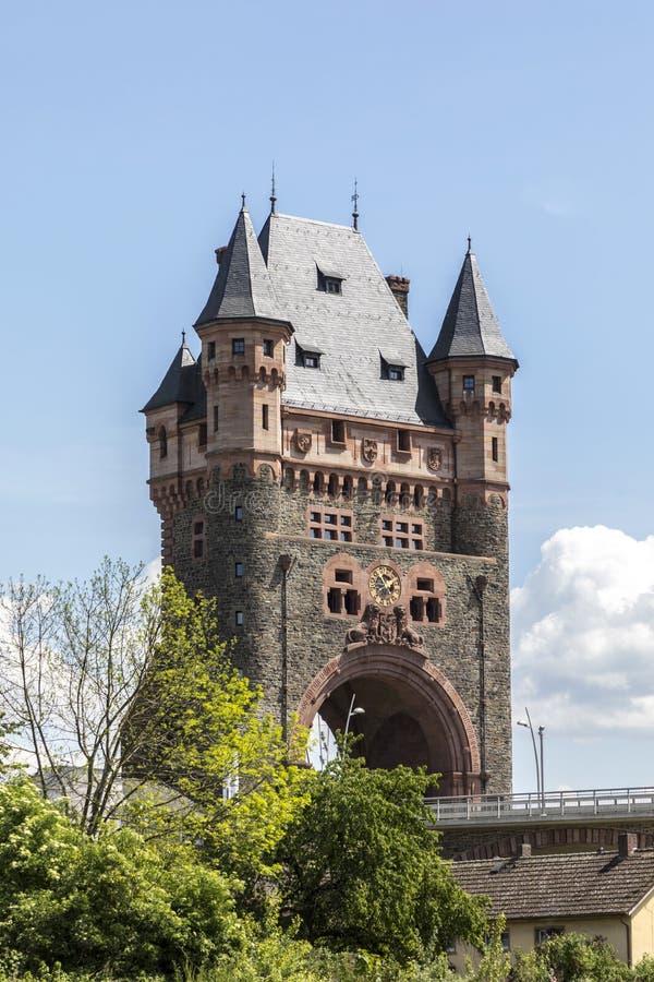 Nibelungentower dżdżownicy Germany fotografia royalty free