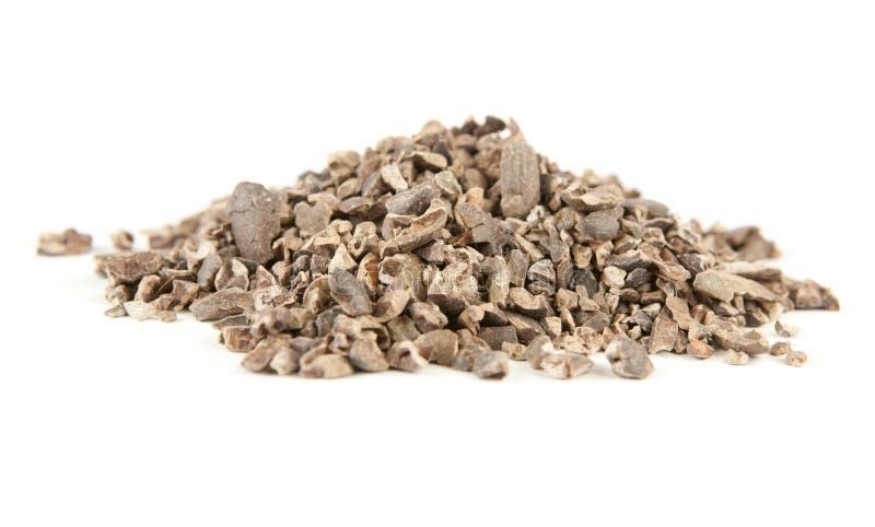 nibs cacao стоковое фото rf