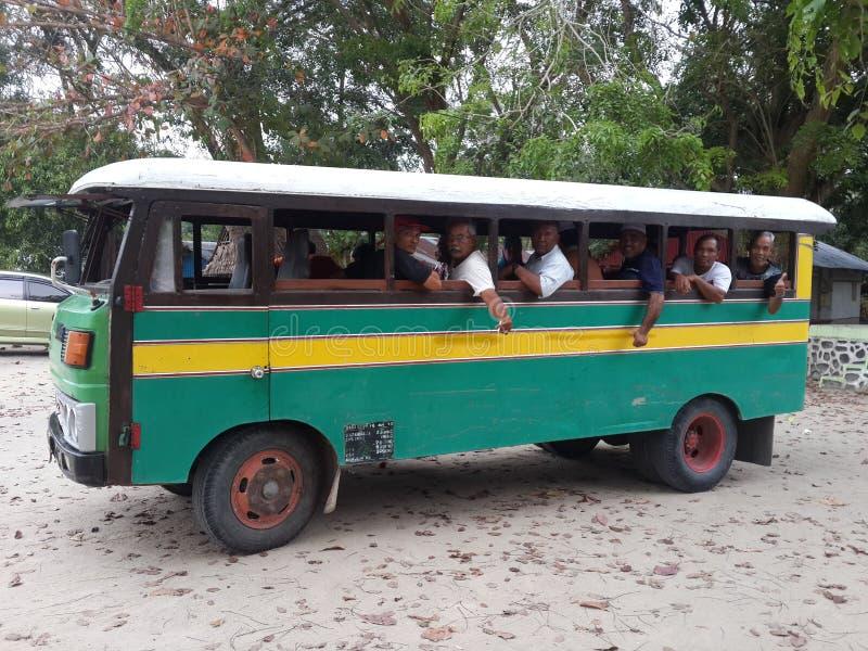 ônibus unic agradável imagem de stock
