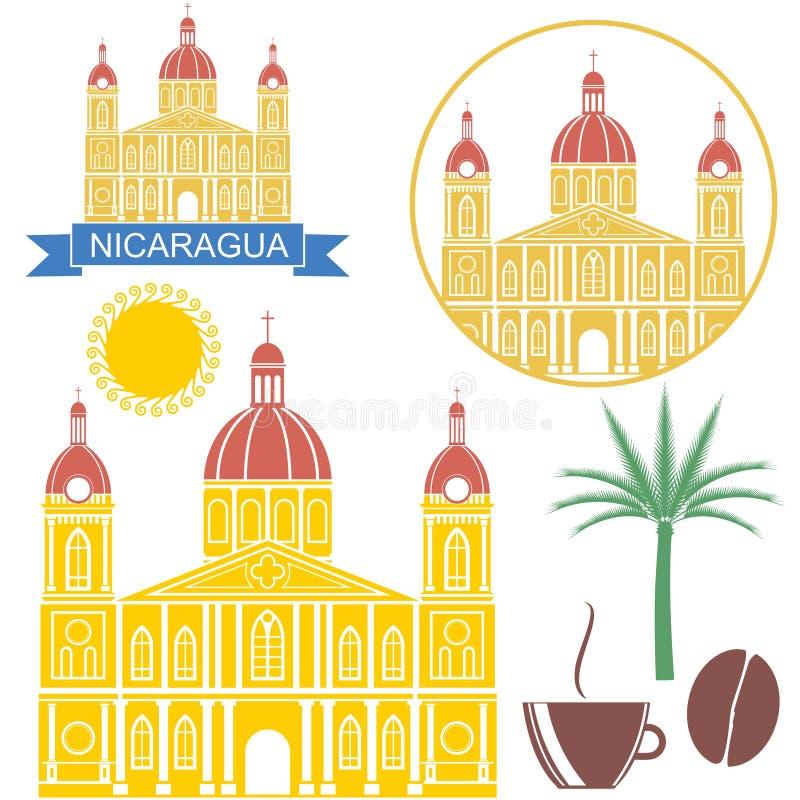 nicaragua illustration de vecteur