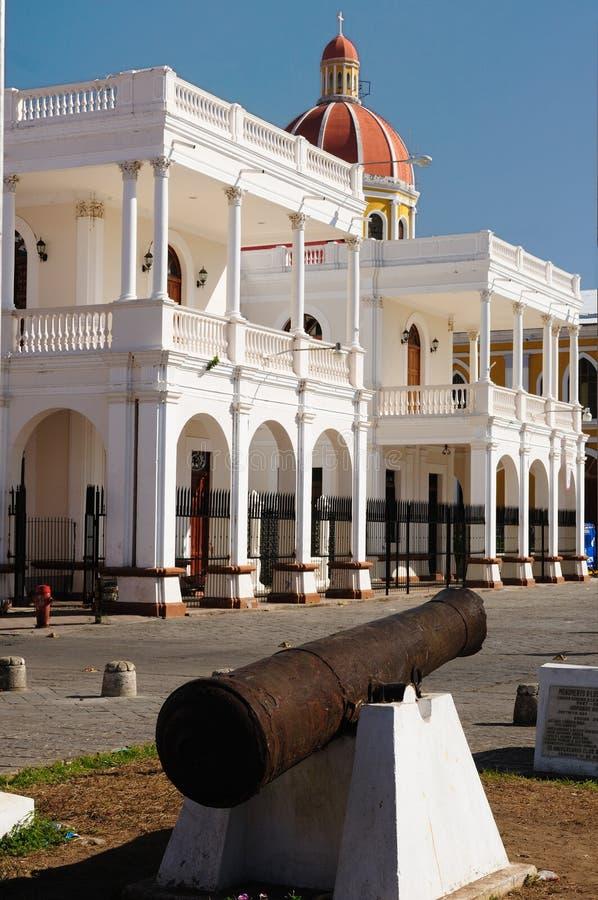 Nicaragua, Mening op oud Granada royalty-vrije stock afbeeldingen