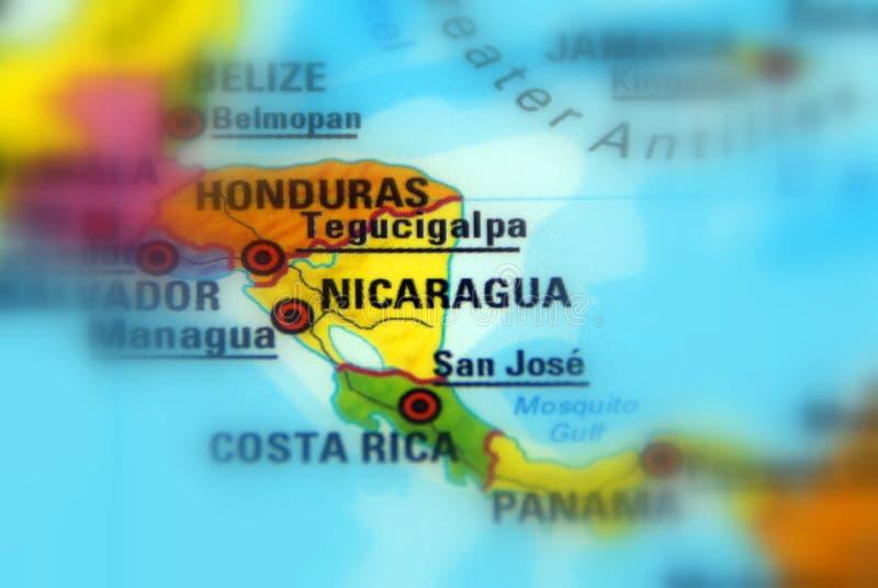 Nicaragua, officieel DE Republiek Nicaragua stock foto's