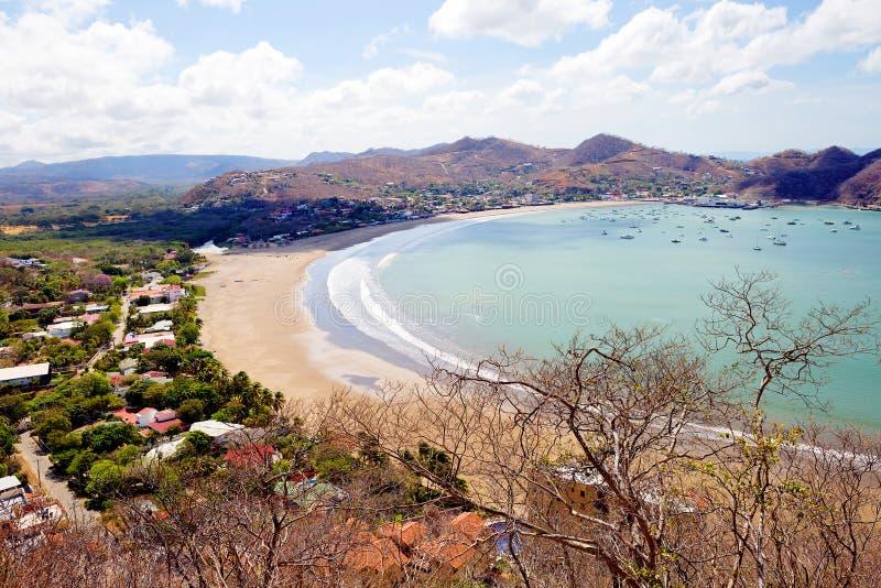 nicaragua San Juan del Sur images libres de droits