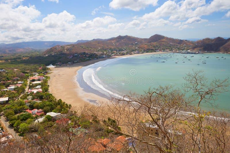 nicaragua San Juan del Sur stock foto's
